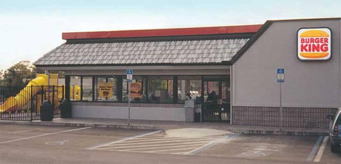 Типичный ресторанчик Burger King, 1967 год